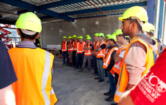 Students to see latest quake-resistant buildings