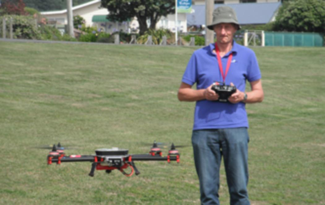 Can drones can be used to help fight fires?