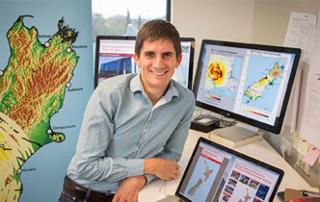 UC academic wins award for earthquake research
