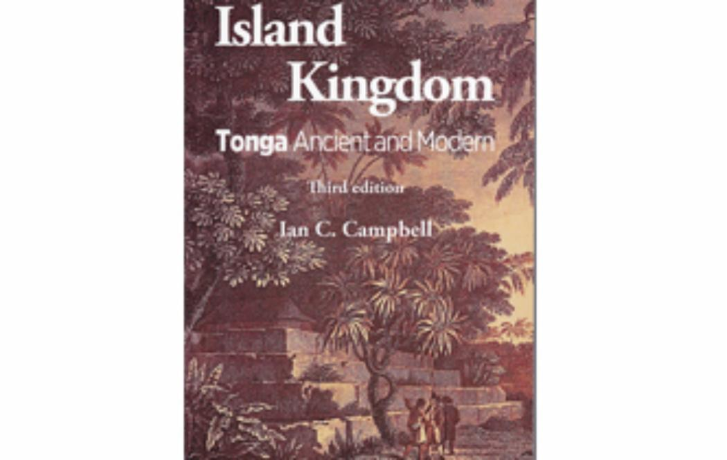 UC academic publishes new history of Tonga