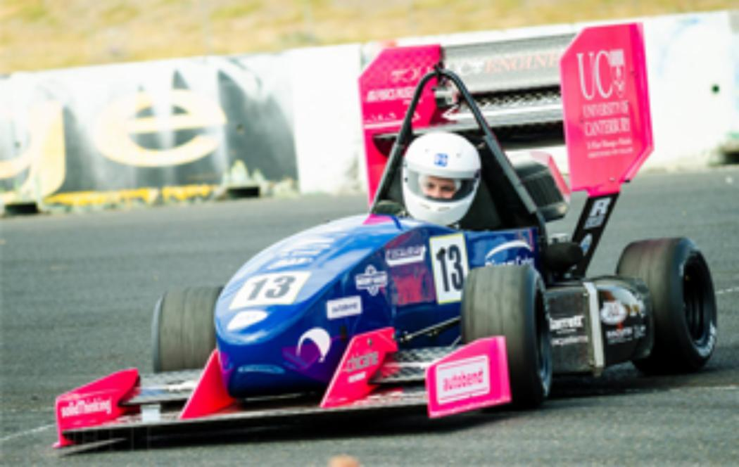 UC Motorsport students take podium in global race