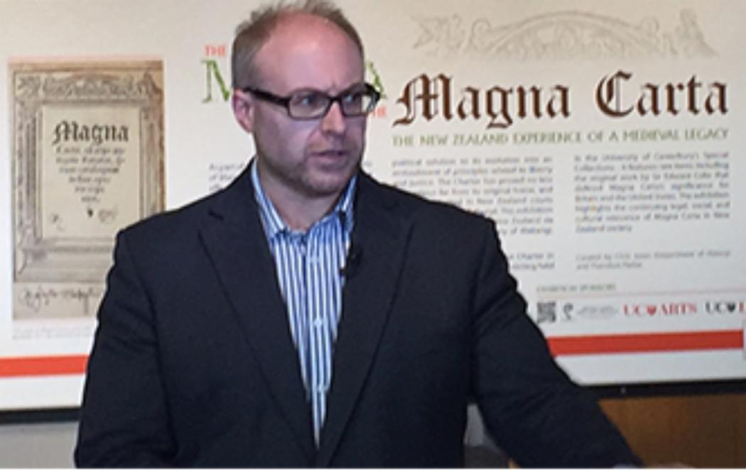 Henry VIII's divorce lawyer's Magna Carta at UC