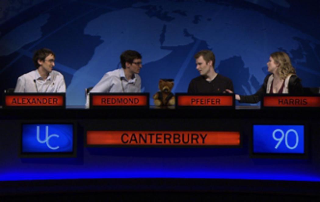 Canterbury wins the new University Challenge