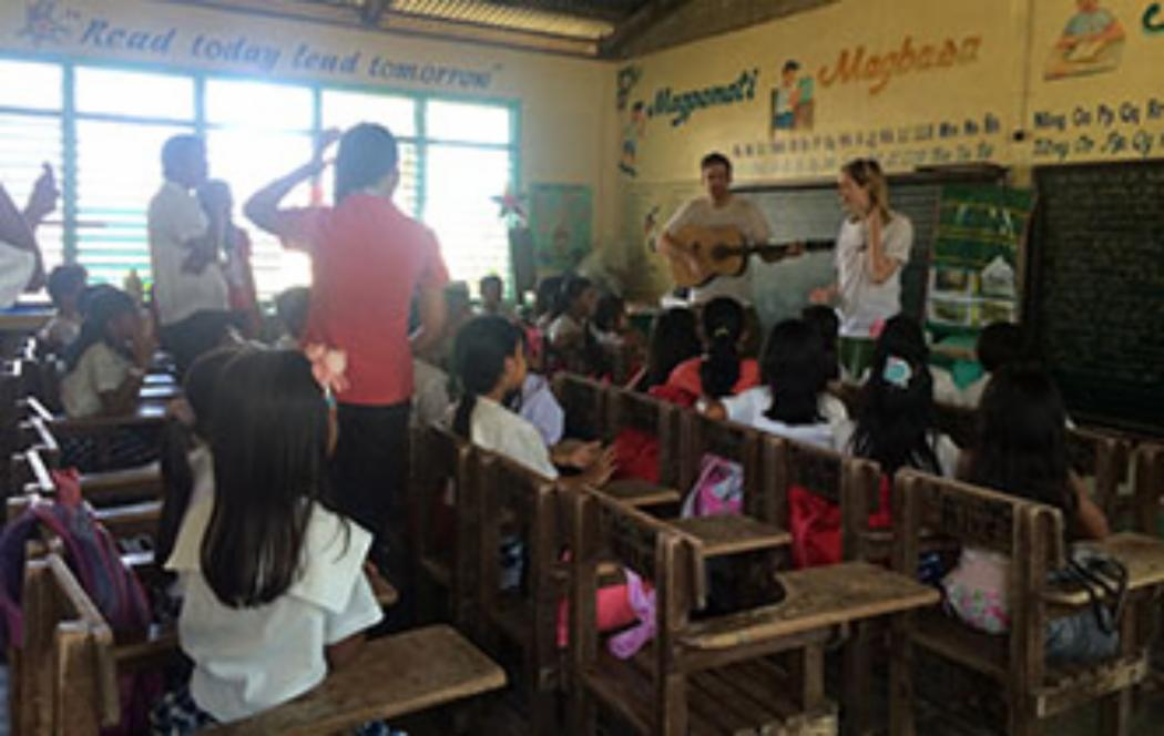 UC student helps organise trip to the Philippines