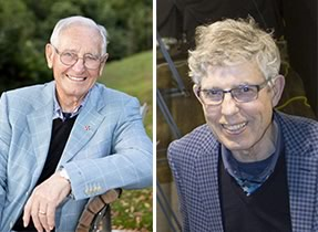 Two Kiwi greats receive UC Honorary Doctorates