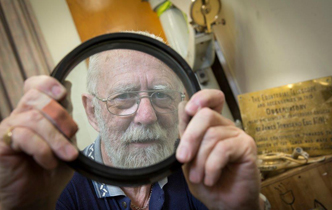 UC Alumnus helps save historic telescope