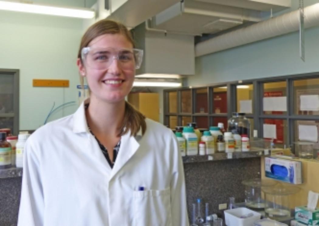 PhD Fulbright scholar studies nanotechnology