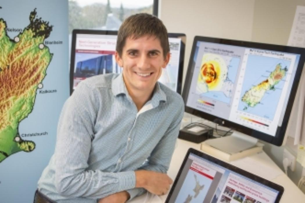 UC professor uses supercomputer to simulate quake