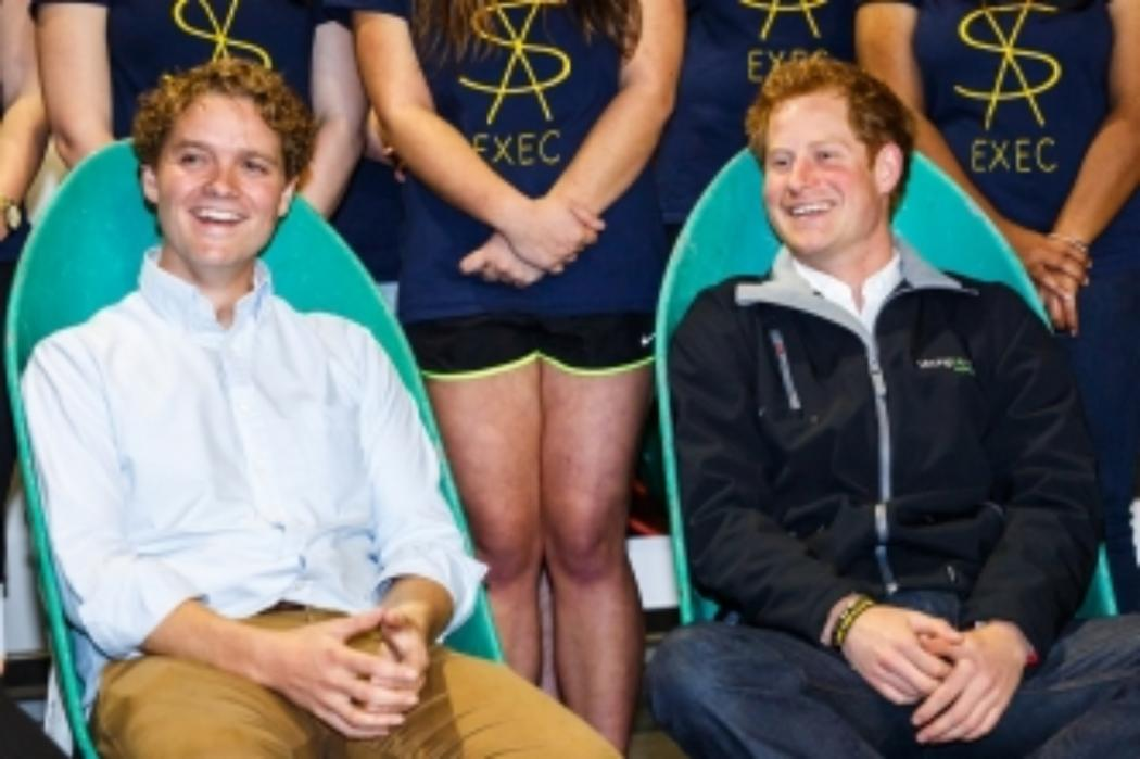 Prince Harry backs UC SVA's call to serve NZ