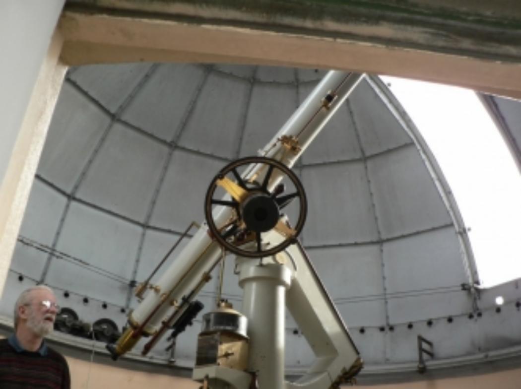 Historic telescope will return stargazing to city