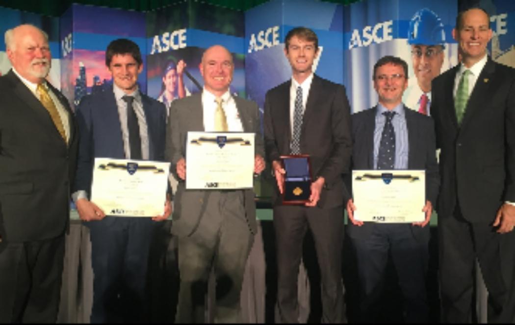 UC earthquake engineers win international honour