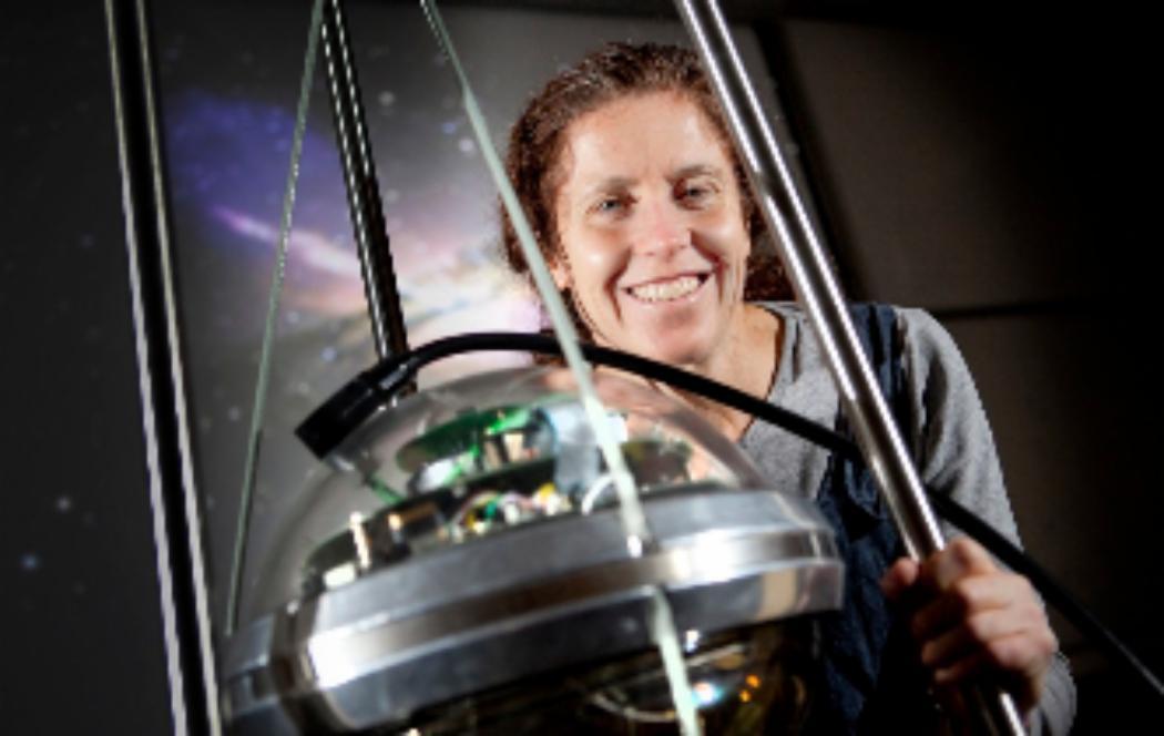 Hunting the elusive neutrino in Antarctica