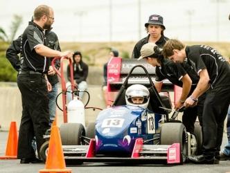 UC students engineer fast-track motorsport careers