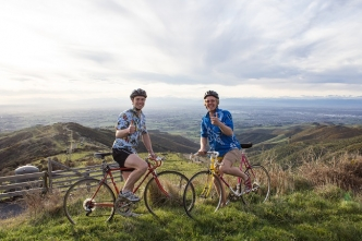 UC students cycle New Zealand for charity