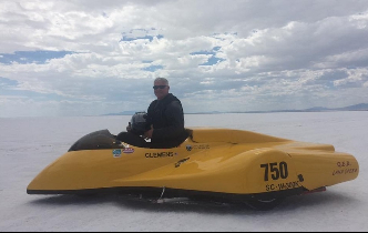 UC PhD student takes on land speed record again