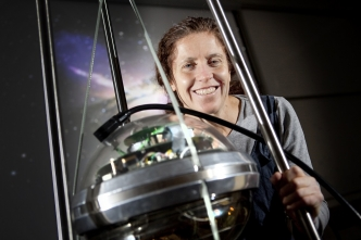 UC physicist uses huge IceCube to catch neutrinos