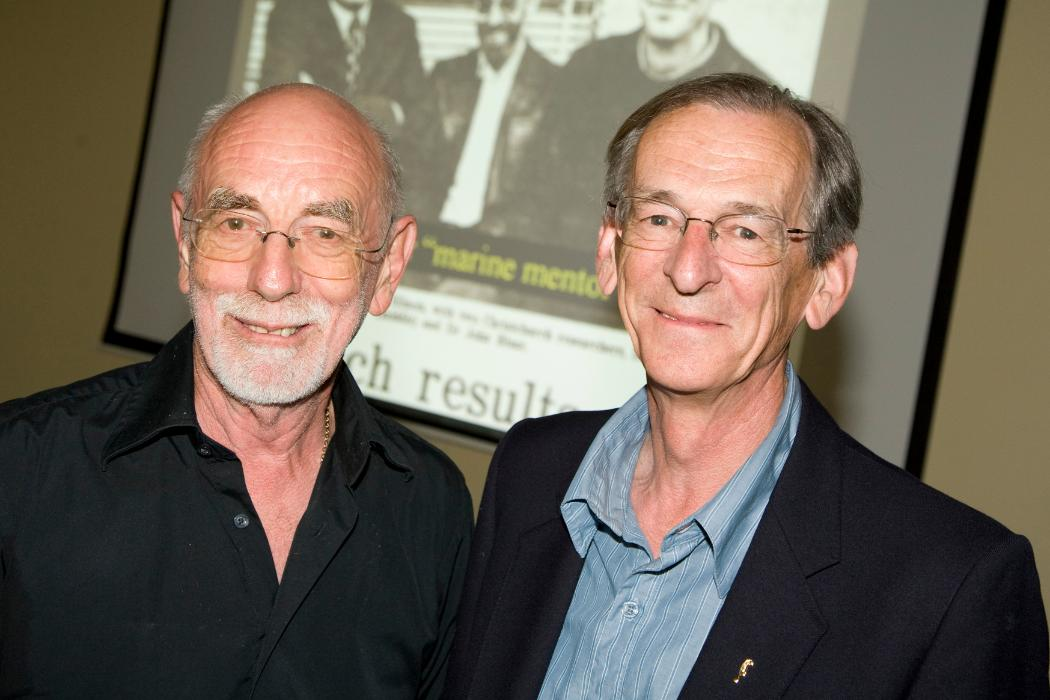 Profs Munro and Blunt