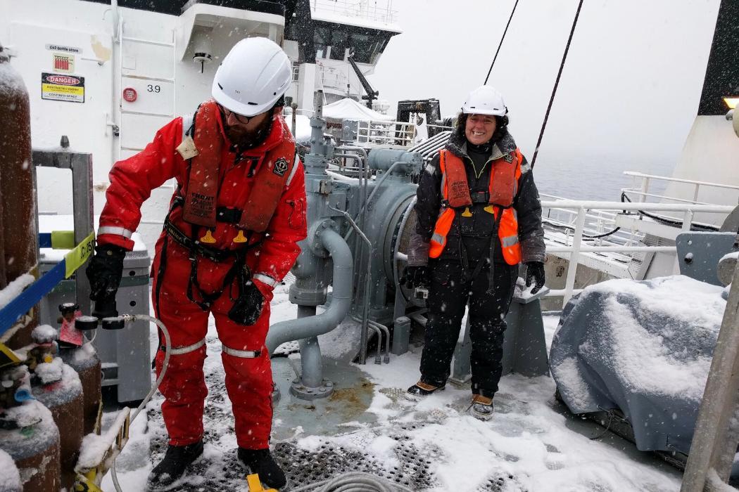 PeterKuma Ross Sea RV Tangaroa research-vessel