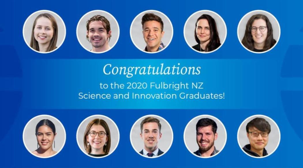 Fullbright Recipients 2020