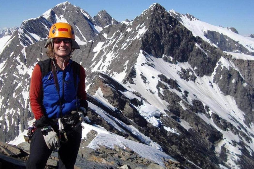 UC Glaciologist Heather Purdie