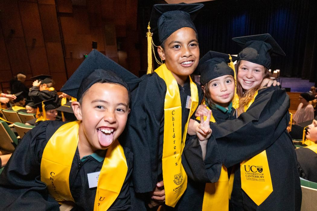 Te Mātāpuna Mātātahi | Children's University 2020 graduates.