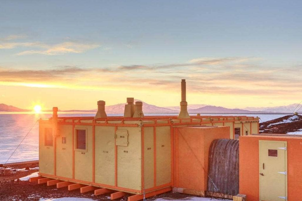 Scott Base Antartica