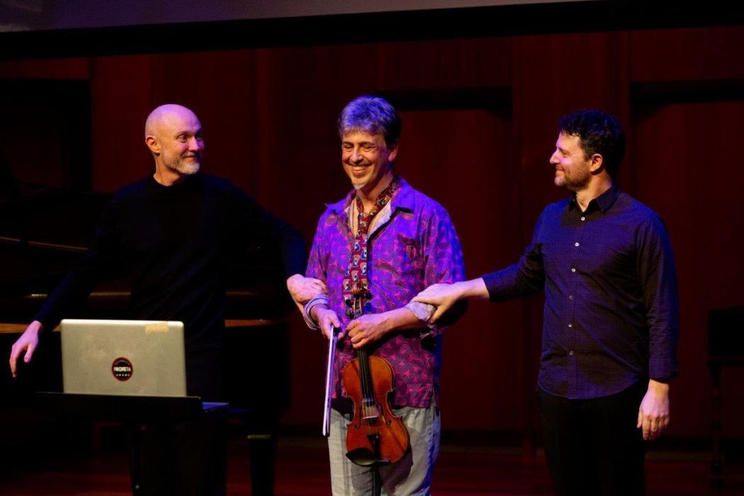 UC Arts, Dr Reuben de Lautour, Professor Mark Menzies, Dr Justin DeHart