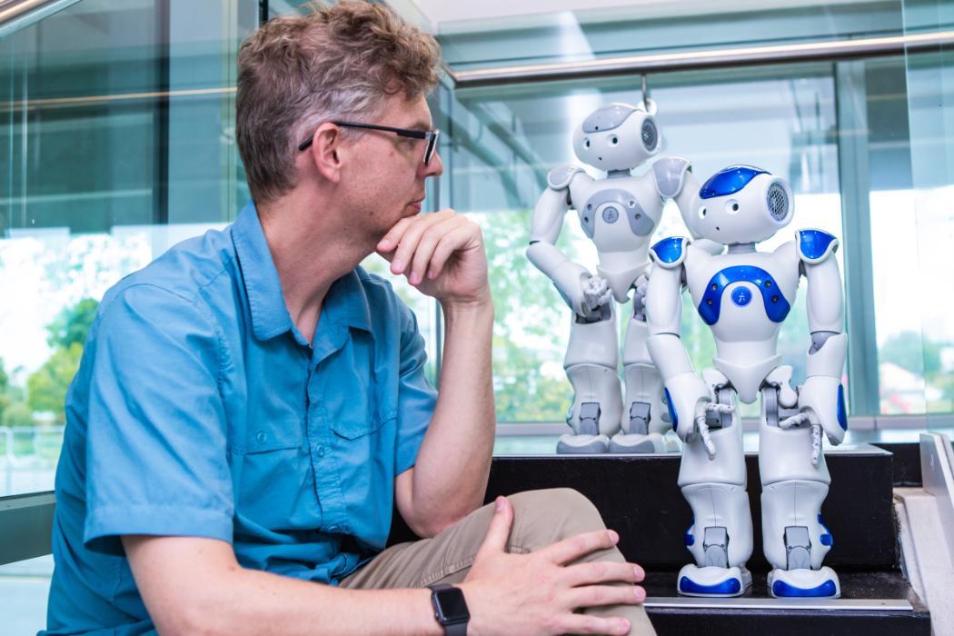 Christoph Bartneck and robots