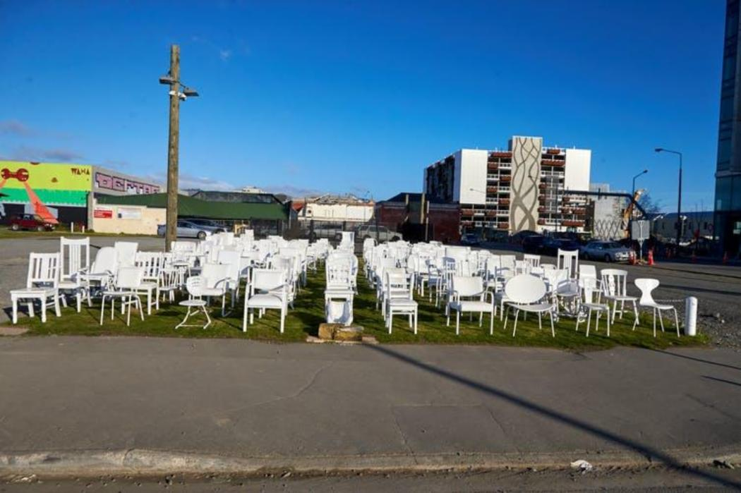 Memorial on the 1st anniversary of the Chch earthquake