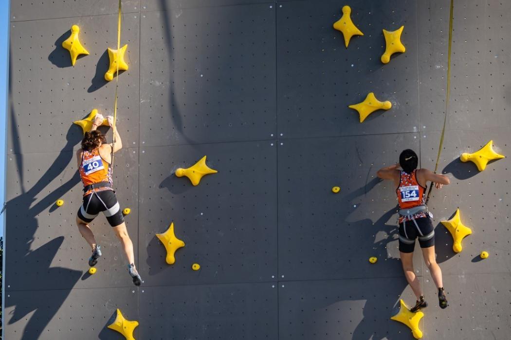 Students climbing championship 2021