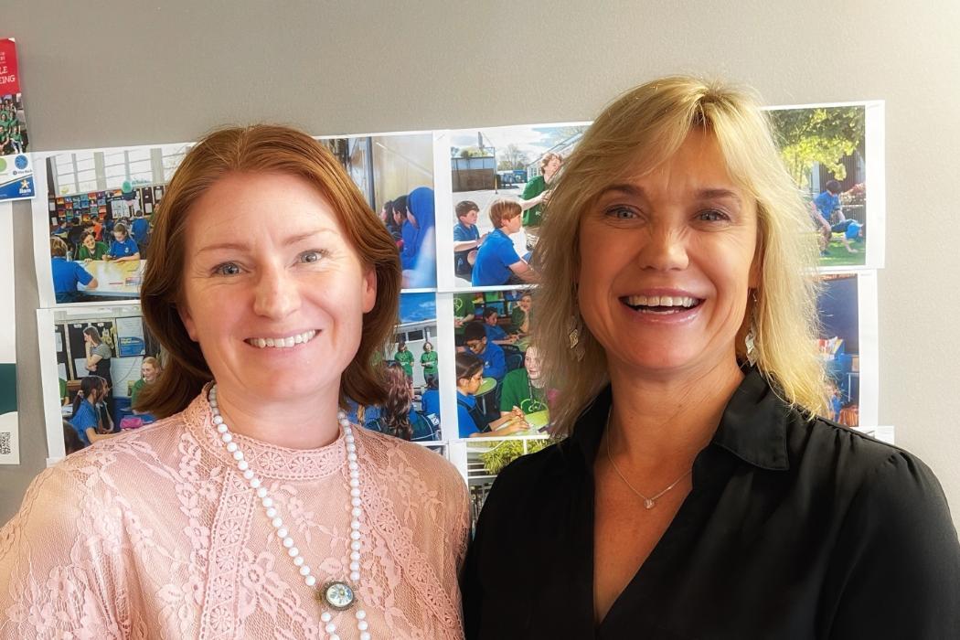 Rachel Dixon and Tracy Clelland
