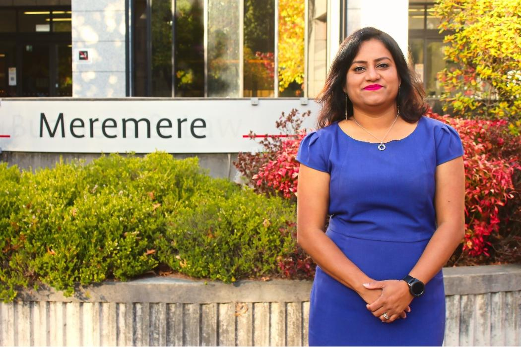 Suntia Gautam PhD graduate