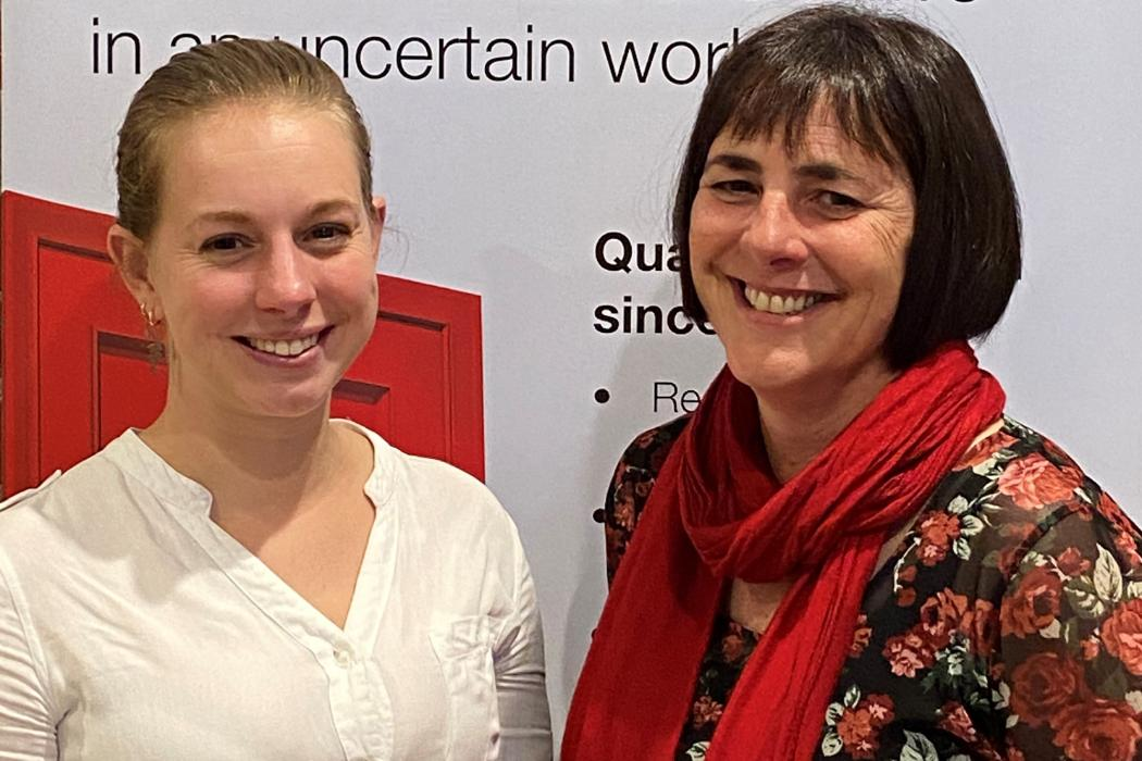 Sophie Horsfall and Tracey Hatton