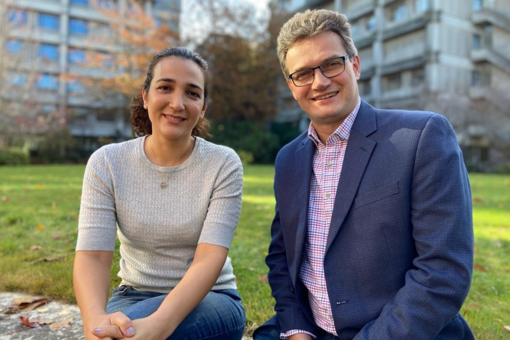 Mona Yaghoubi and Jedrzej Bialkowski