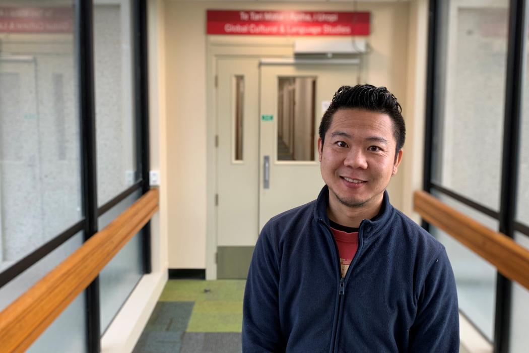 Dr Wei Teng. chinese language