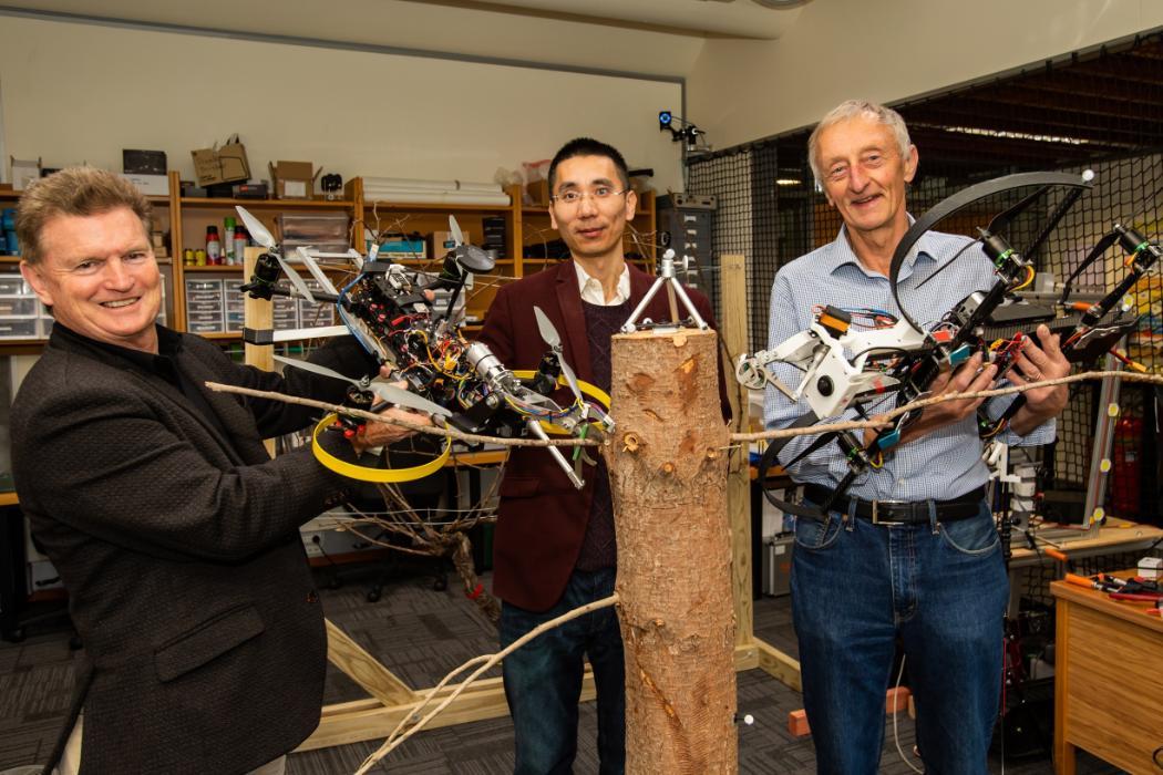 Richard Green, Dan Zhao, Kelvin Barnside