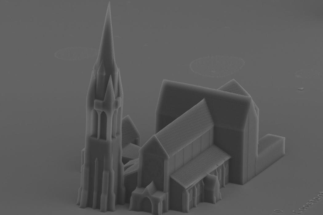 Nanoscribe Cathedral