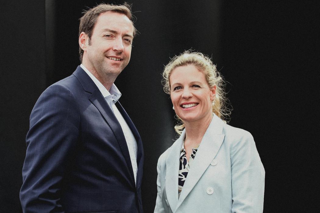 Ben and Penny Gough