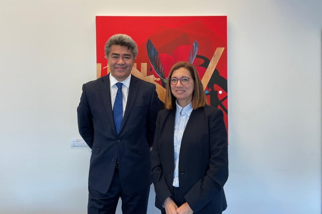 Associate Professor Te Maire Tau and Professor Cheryl de la Rey