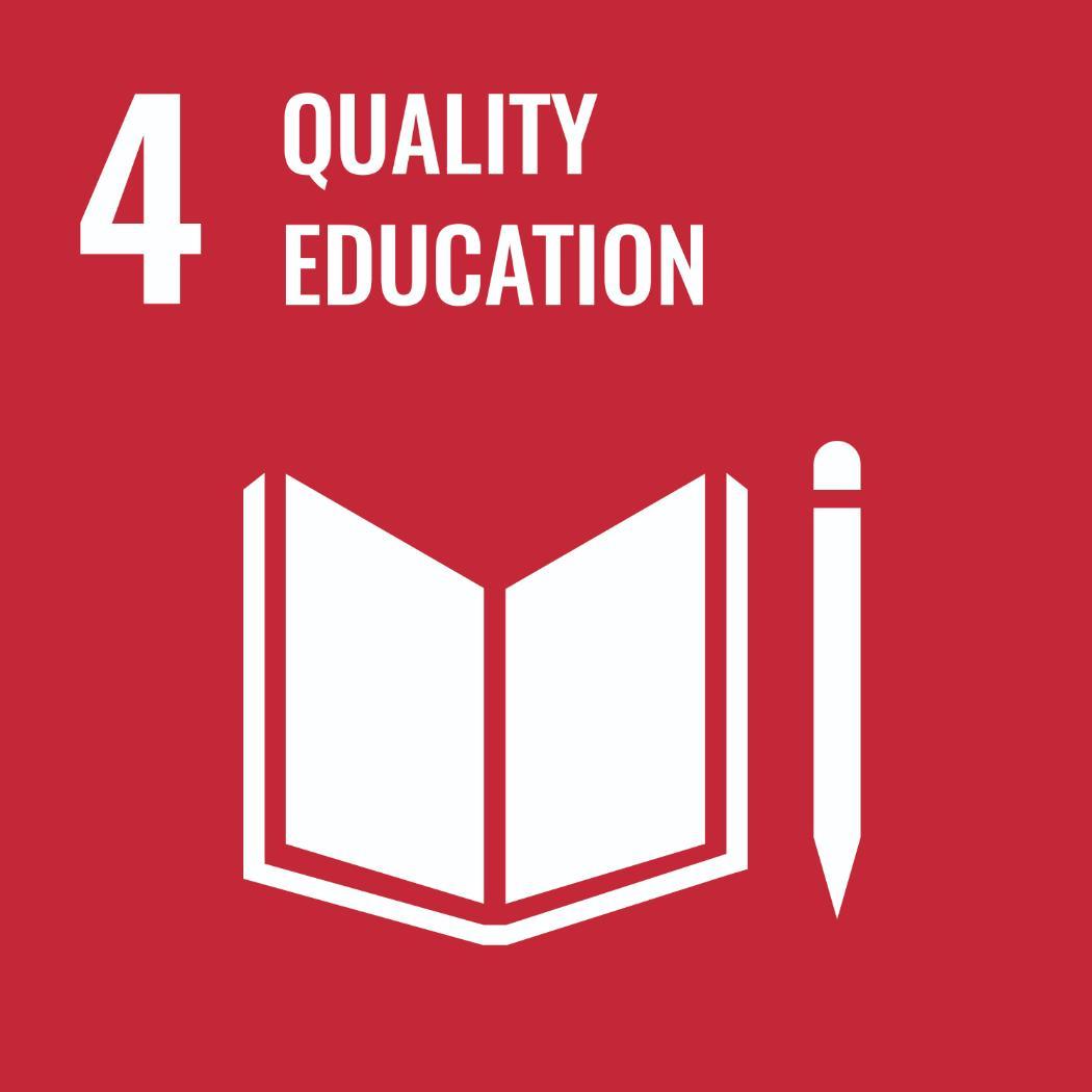 Sustainable Development Goals 4 - Quality Education