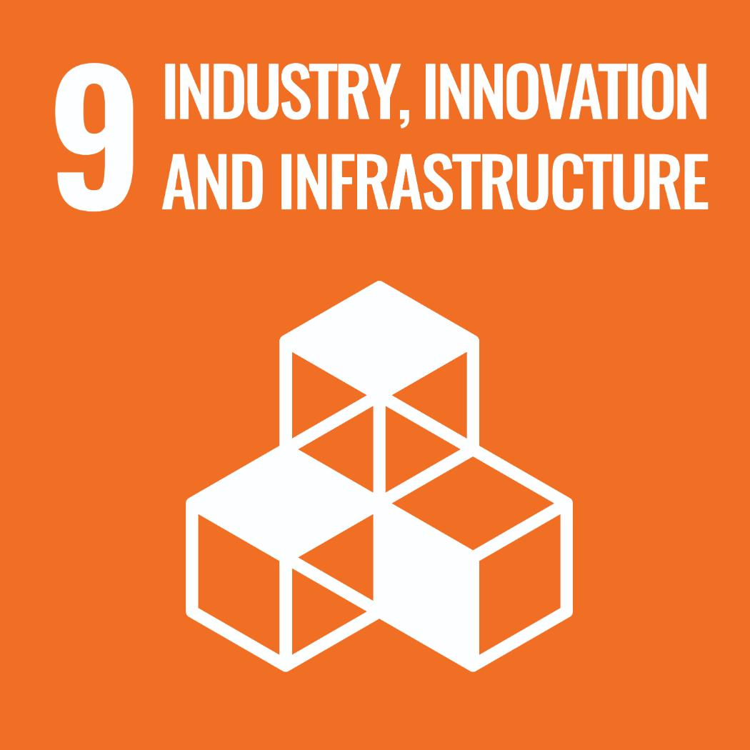 Sustainable Development Goals 9 - Industry, Innovation and Infrastructure