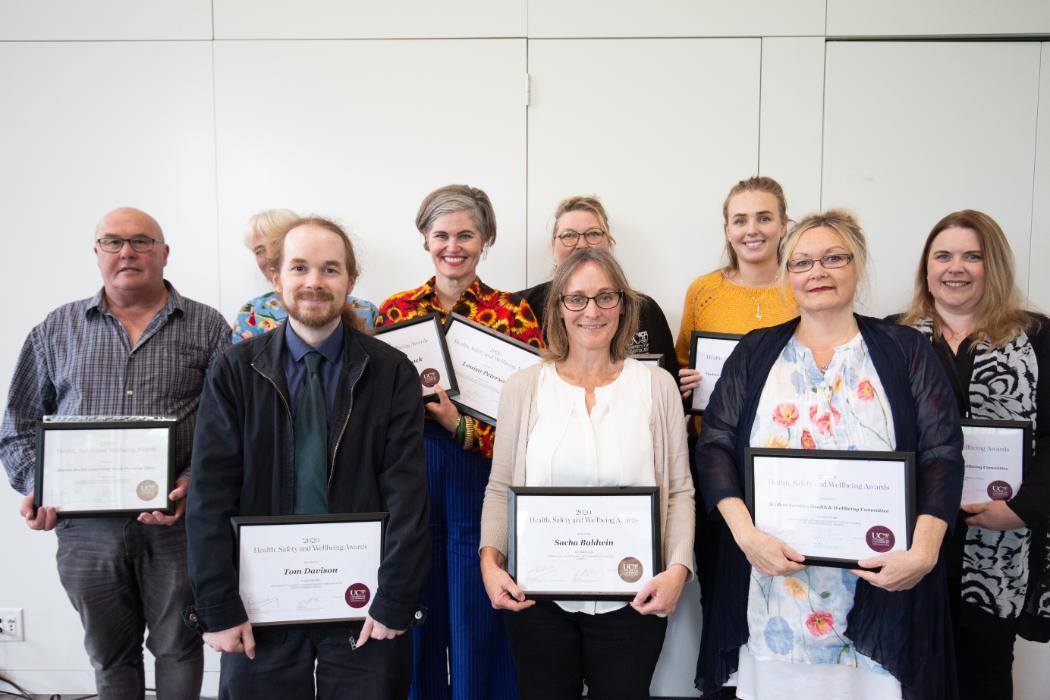 H&S Award recipients 2020
