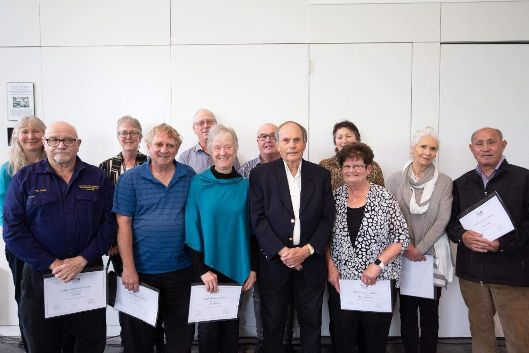 40 years+ Long Service Recognition Awards recipients
