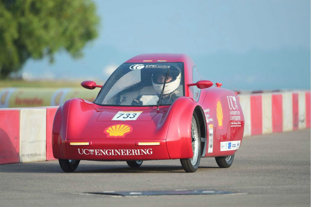 UC eco-marathon vehicle