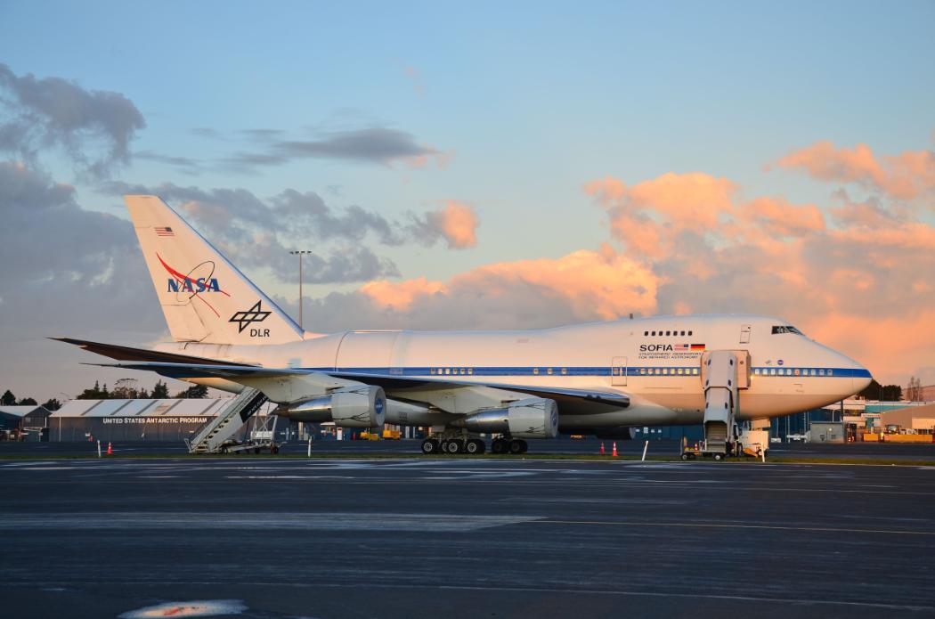 SOFIA  plane