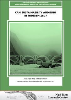 Image - Can sustainability auditing be indigenised
