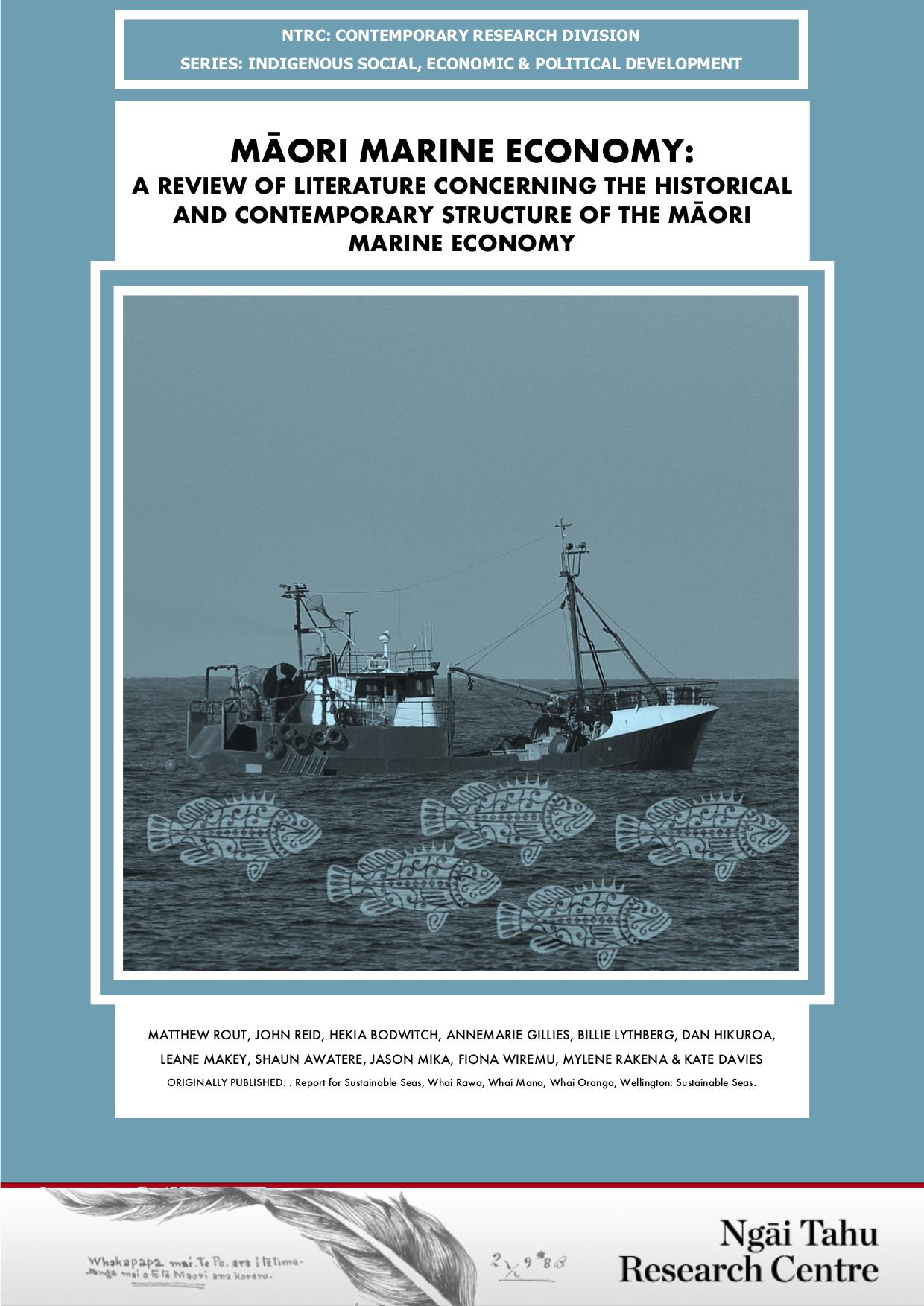 Image - Māori marine economy - Lit Review