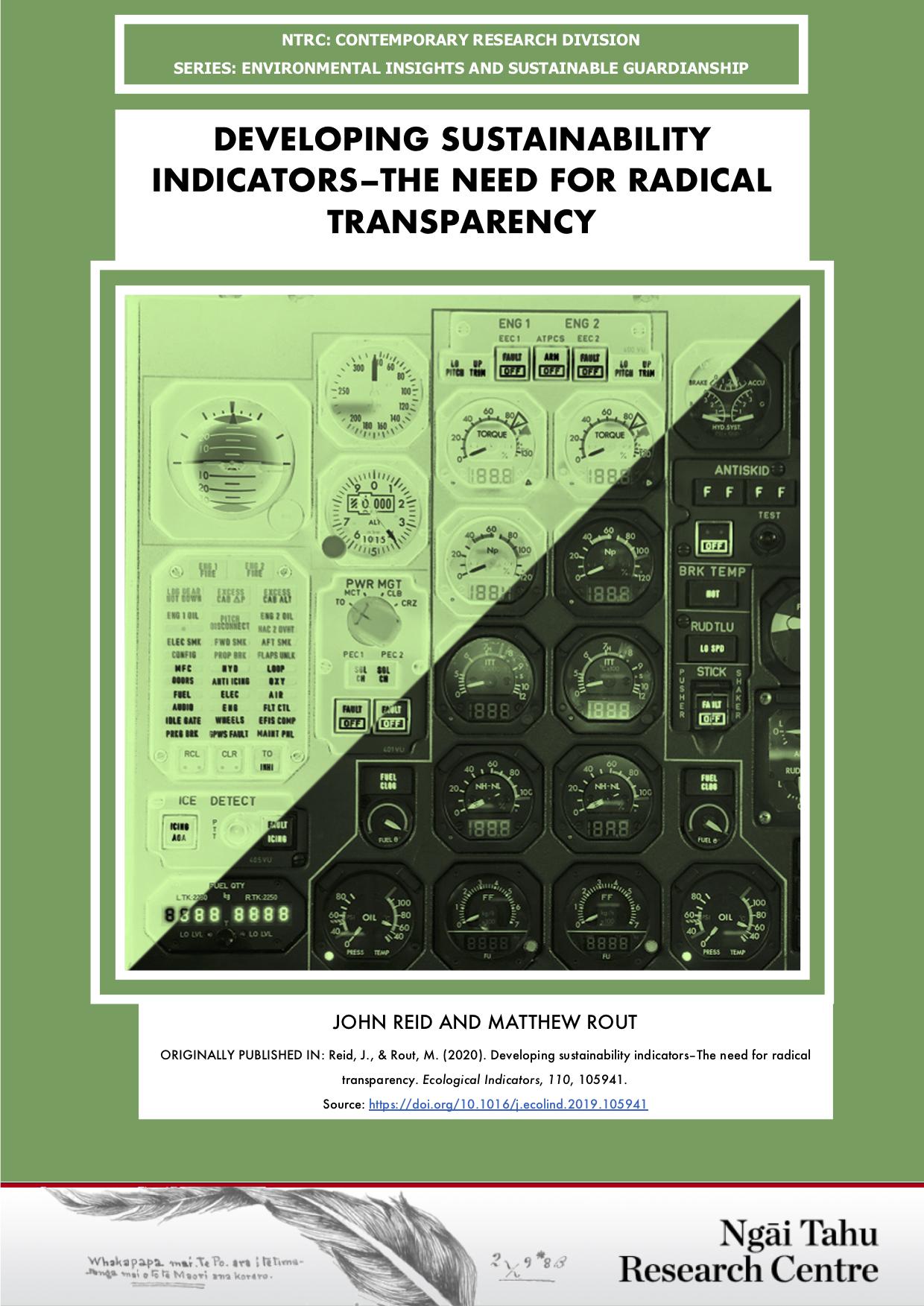 Image - Radical Transparency