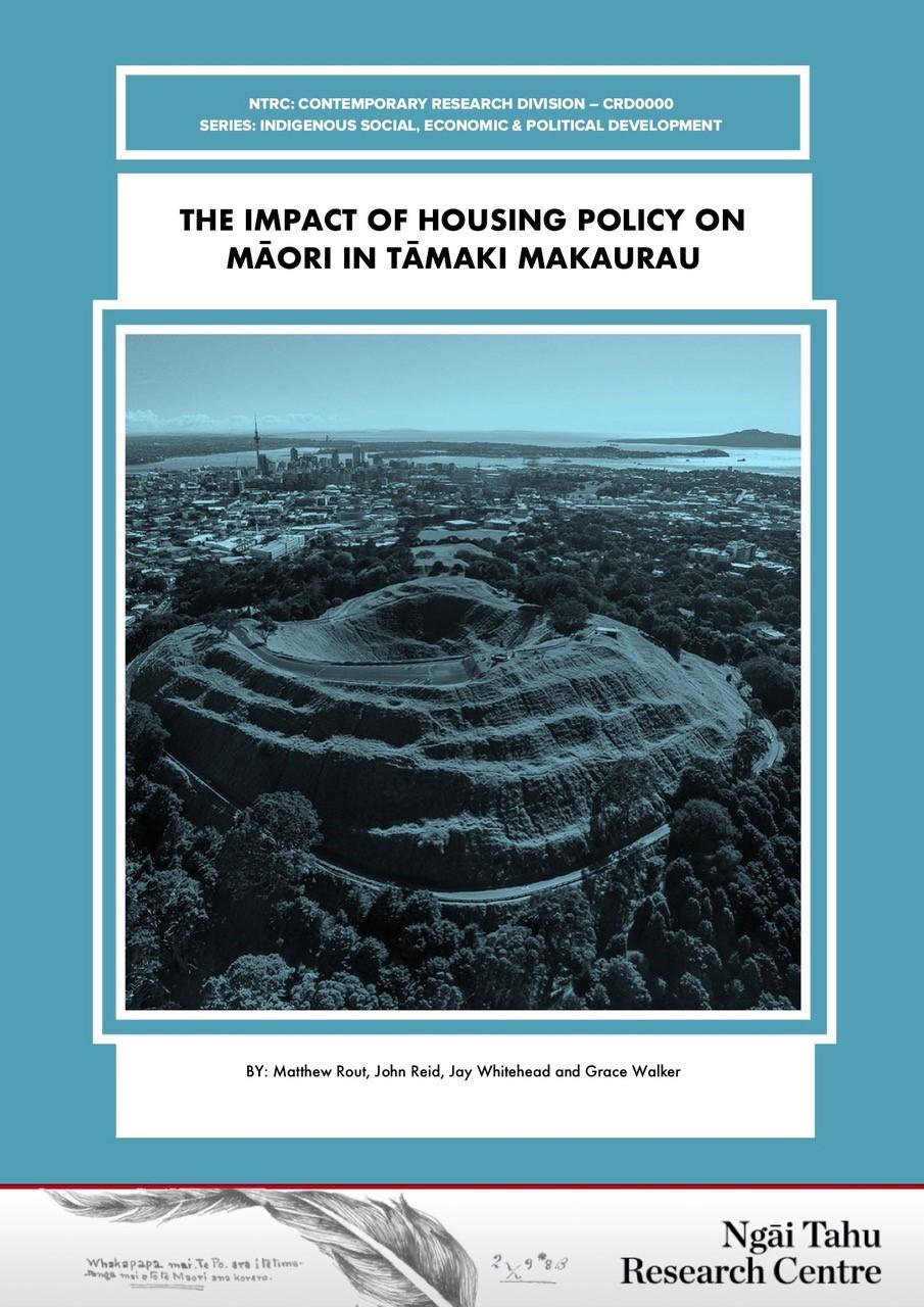 The Impact of Housing Policy on Māori in Tāmaki Makaurau