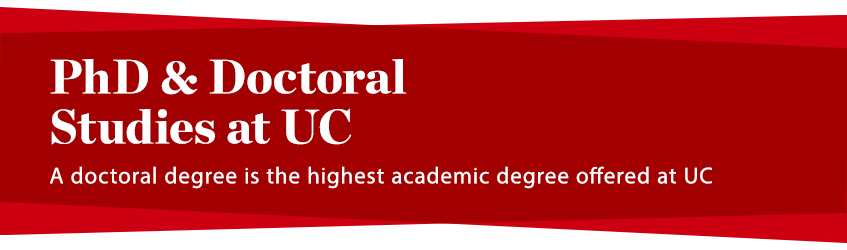 PhD and Doctoral Studies - Header Image